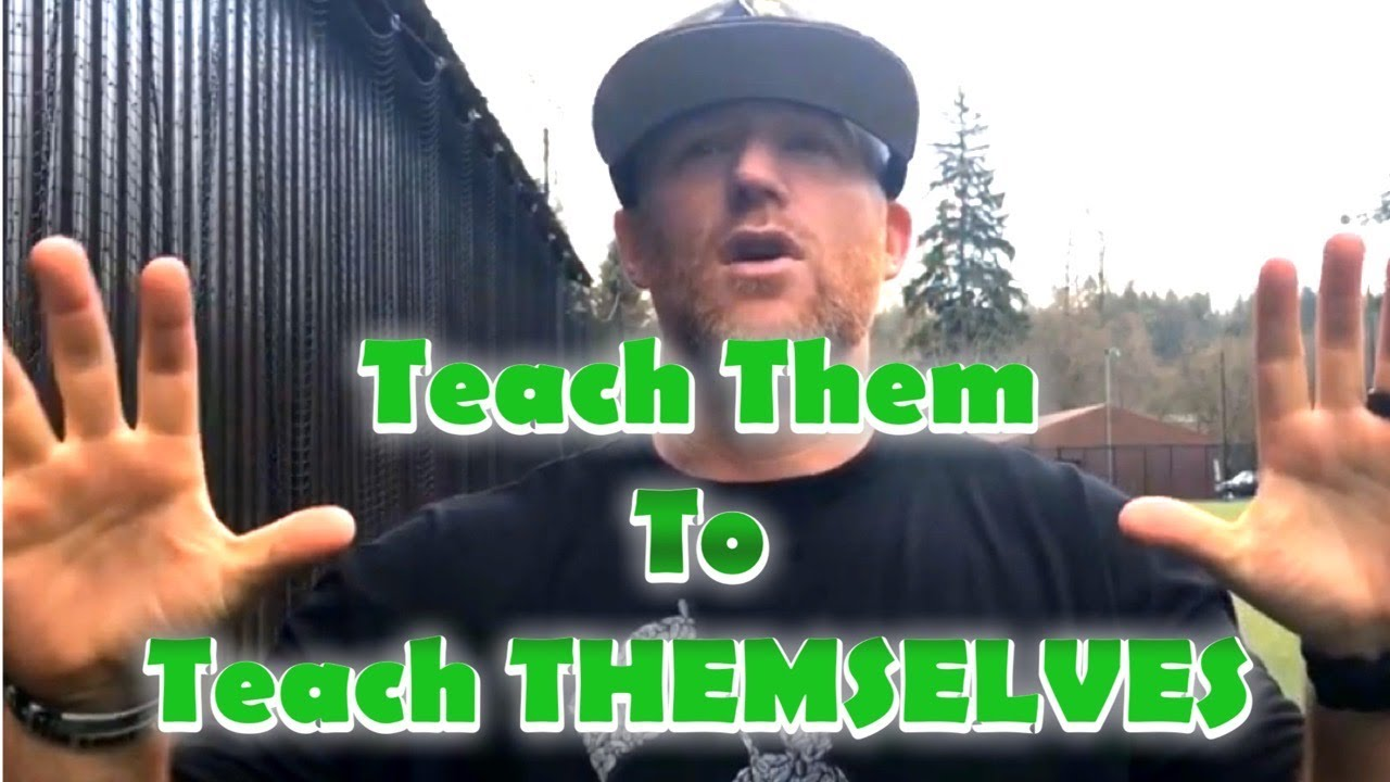 You are currently viewing Teach Them To Teach Themselves