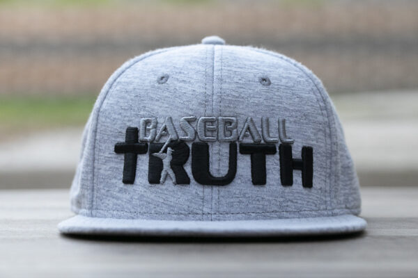 Baseball Truth Grey Heather Snap Back Hat