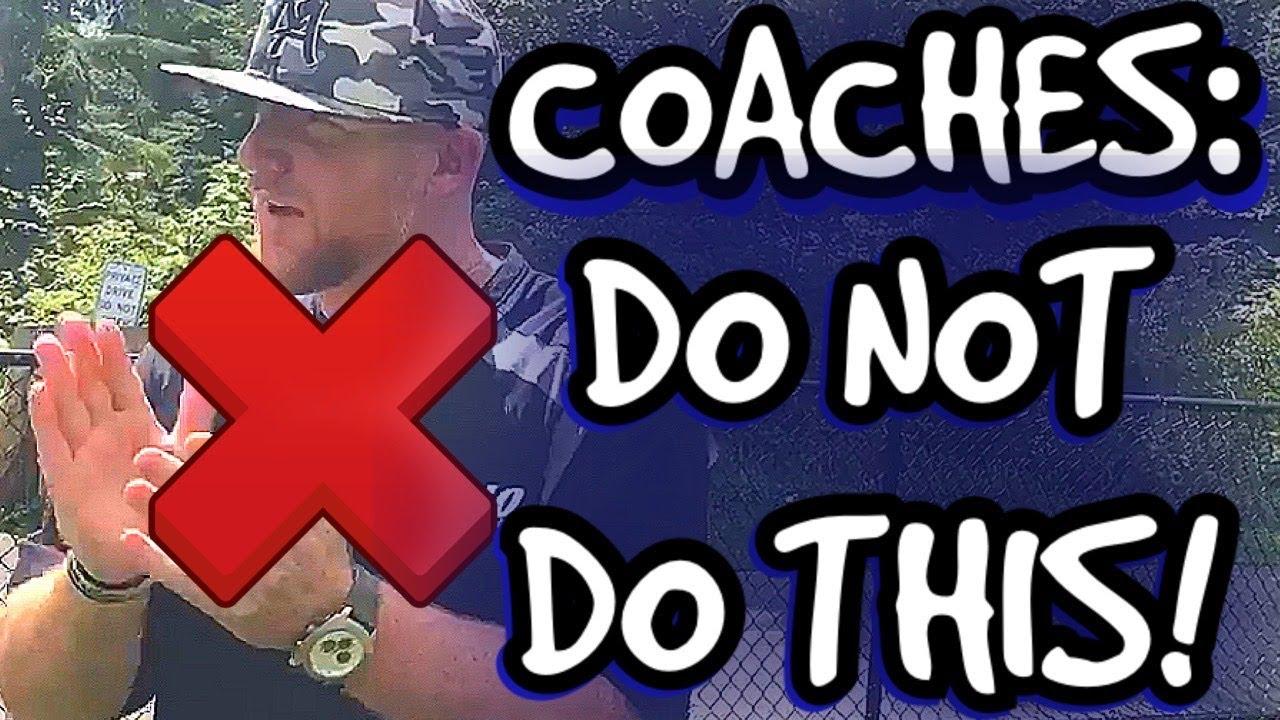 Coaches: DO NOT DO THIS When Coaching 3B!