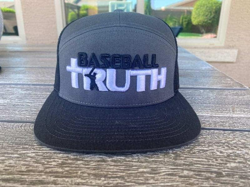 Baseball Truth- Charcoal Grey
