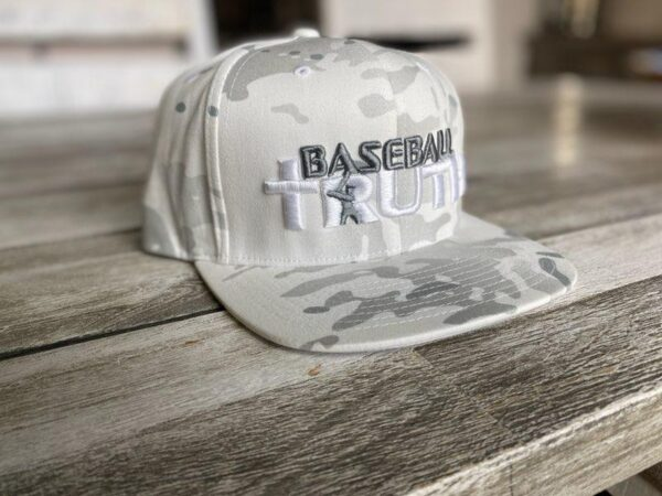 Yupoong SnapBack Multicam White Camo Collection