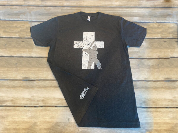 Baseball Truth Logo Black T-shirt