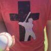 Baseball Truth Logo Red T-shirt